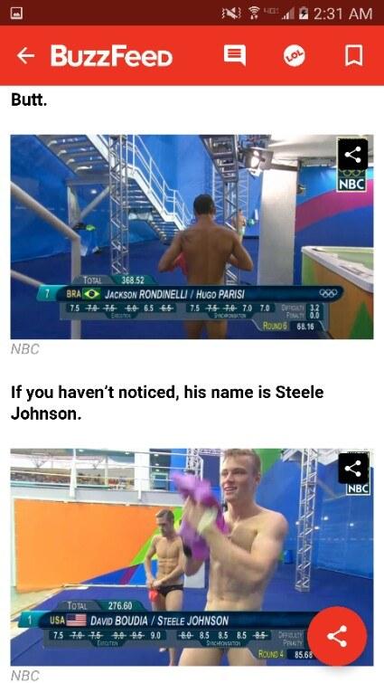 Juegos Olímpicos Porno 2016