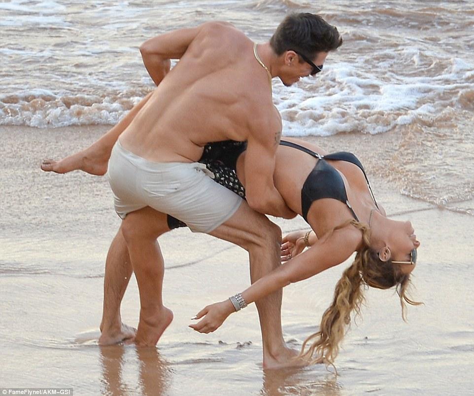 Mariah Carey nuevo novio montaje