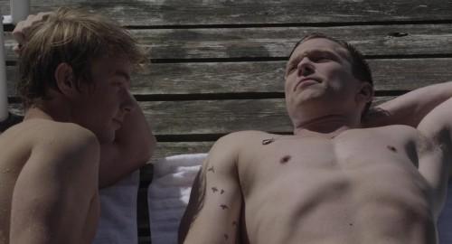 Actores desnudos en 'Steel' David Cameron y Chad Connell