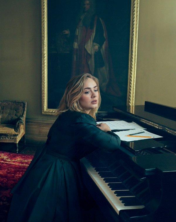 Adele para 'Vogue' Marzo 2016
