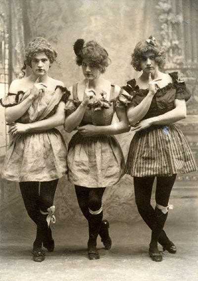Drag Queens victorianas