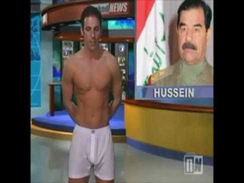 Presentadores desnudos en Naked News
