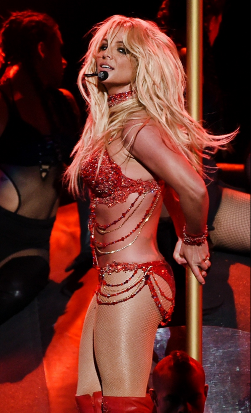 Britney Spears en los Billboard Music Awards 2016