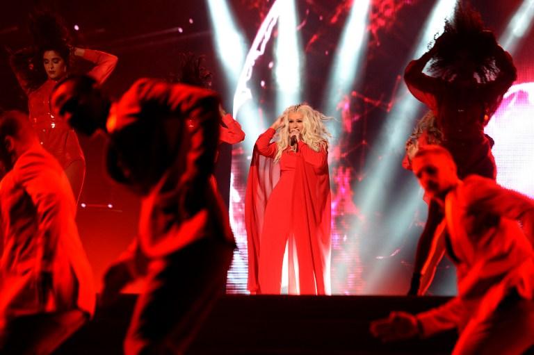 Christina Aguilera en Mawazine