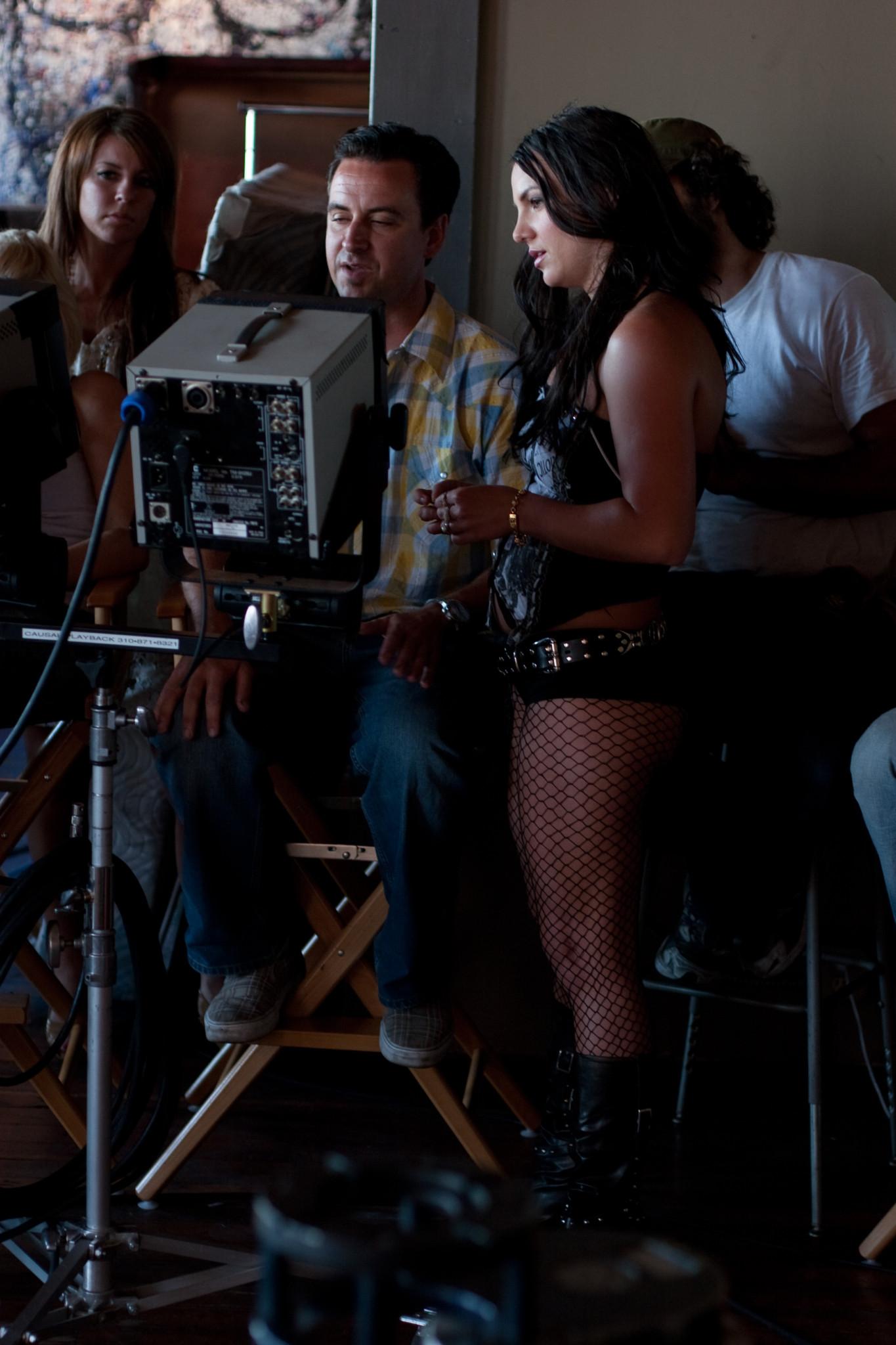 Britney Spears en 'Gimme More'