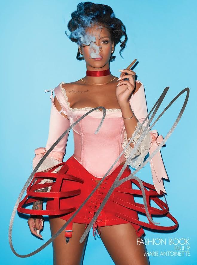 Rihanna es Maria Antonieta
