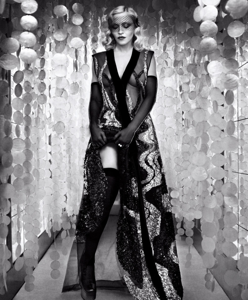 Madonna para 'Harper's Bazaar'