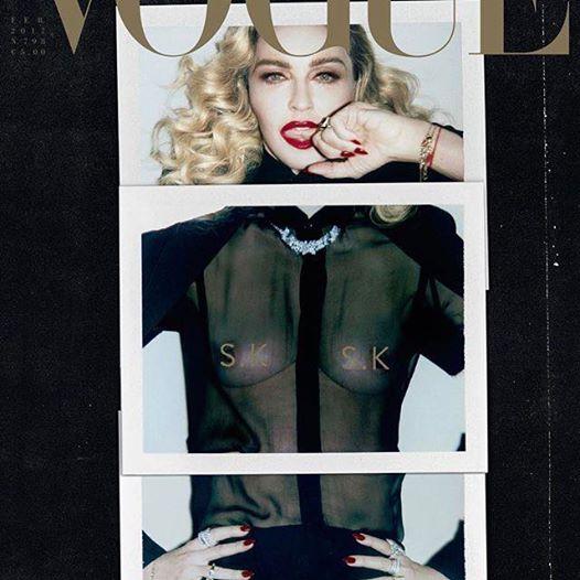 madonna desnuda vogue italia