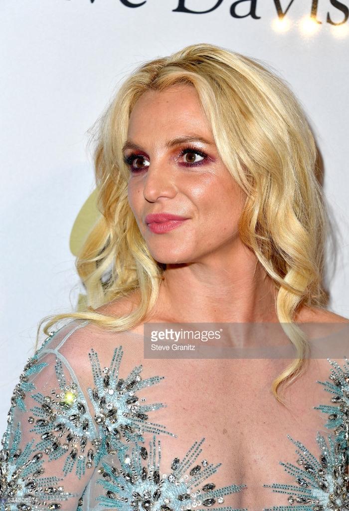 Britney Spears pre Grammy 2017