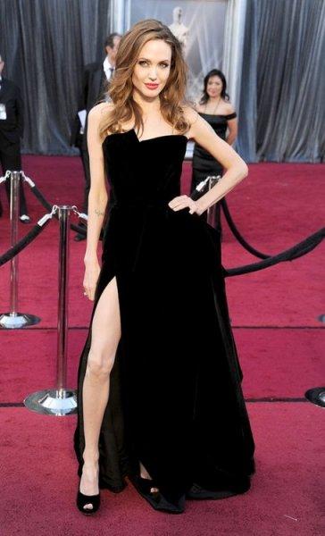 La pierna de Angelina