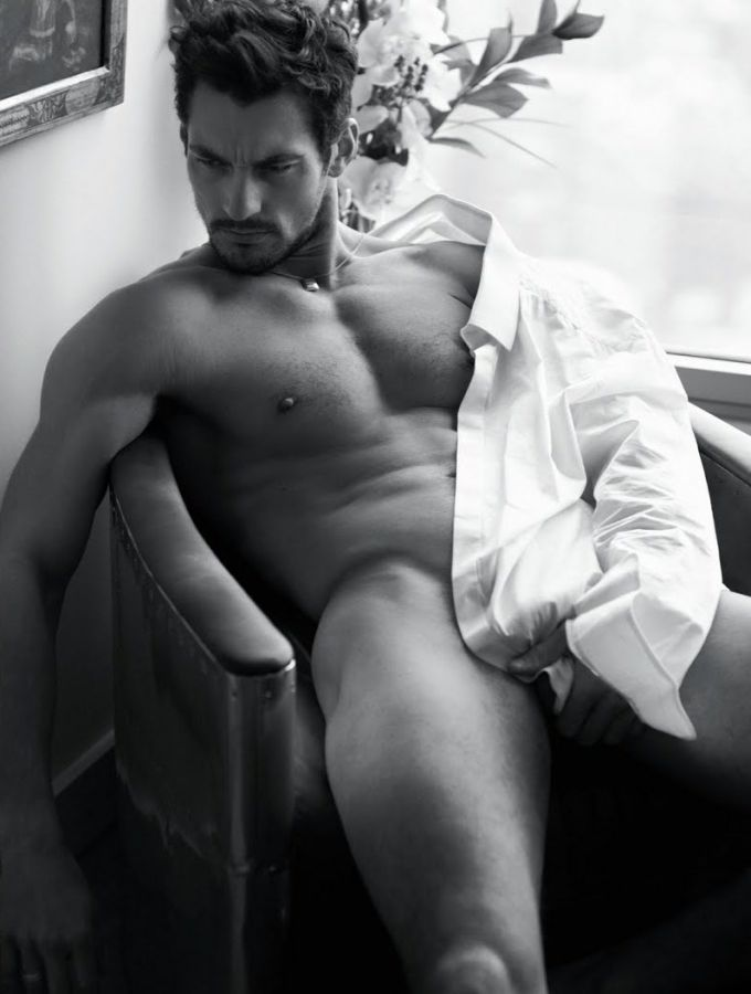 Final, david gandy nude with you