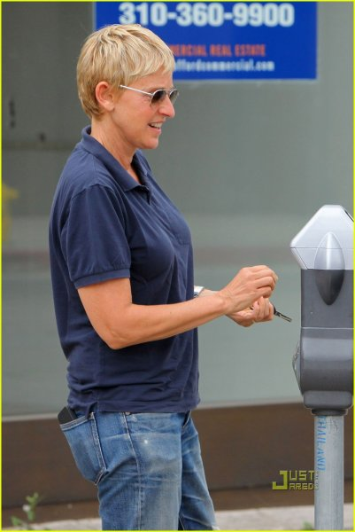 Ellen DeGeneres y Portia de Rossi (1/4)