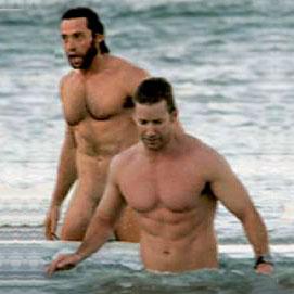 El culo de Hugh Jackman desnudo, víctima de la