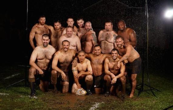 Equipo de hockey desnuda 2 9