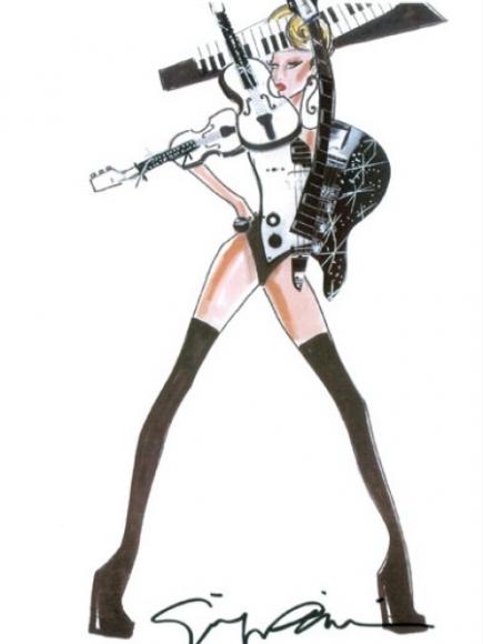 Lady Gaga por Armani