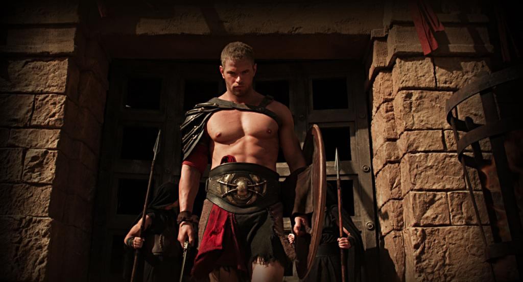 Kellan Lutz en 'Hercules 3D'