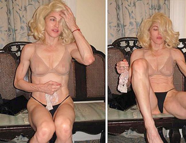 Las Mejores Fotos De Madonna Desnuda