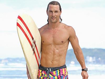 Fotos de desnudos de Matthew McConaughey filtradas
