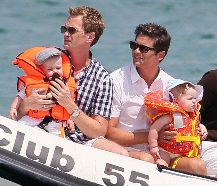 Neil Patrick Harris, Elton John, maridos e hijos