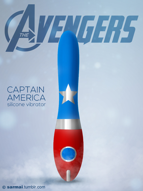 The Avengers sex toys