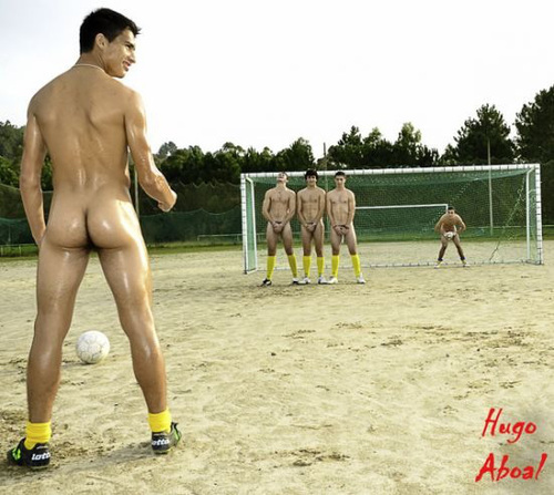 Nude footballers archives