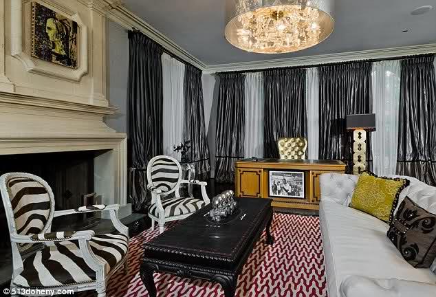 Christina Aguilera y su casa