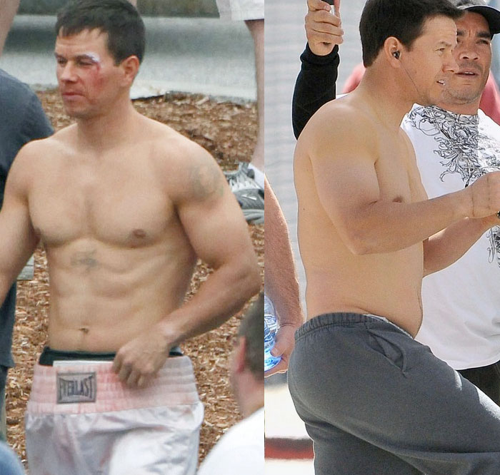 "Mark Wahlberg está engordando para la película ""The Fighter"""
