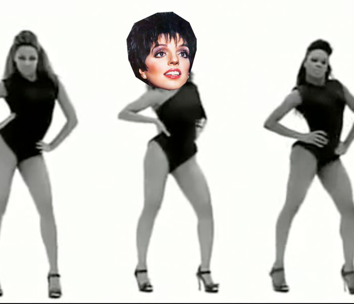 Liza Minnelli versiona 'Single Ladies' de Beyoncé