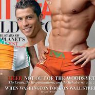 Cristiano Ronaldo en calzoncillos para Vanity Fair
