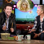 Cory Monteith (Glee) y Taylor Swift... ¿novios?
