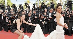 Looks en Cannes. Alfombra roja.