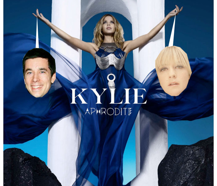 "Escucha ""All the lovers"", el nuevo single de Kylie Minogue."