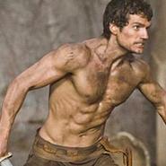 """Impresionante shirtless de Henry Cavill en """"Immortals""""."""