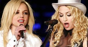 Madonna y Britney Spears, de palo, juntas en Glee