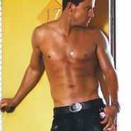 Channing Tatum casi desnudo