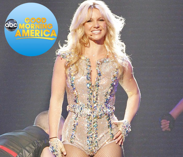 EN DIRECTO: Britney Spears en 'Good Morning America'