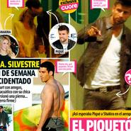 Gerard Piqué espera a Shakira con el Piquetón preparado
