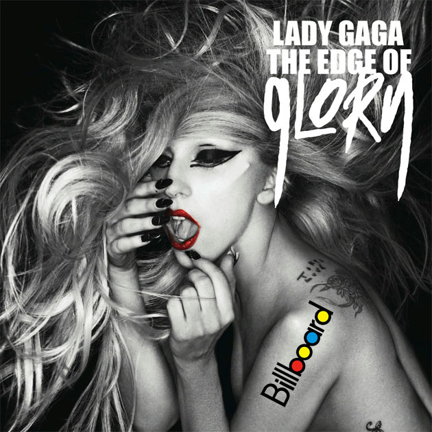 Lady Gaga da la sorpresa en Billboard con 'The Edge Of Glory'