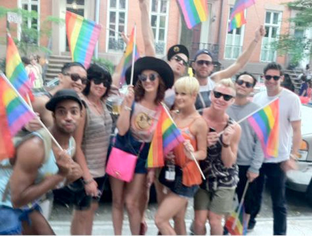 Katy Perry celebra el Orgullo Gay