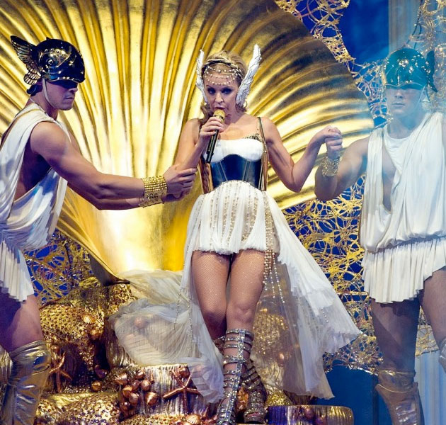 Kylie Minogue - 'Aphrodite Les Folies' Live in London