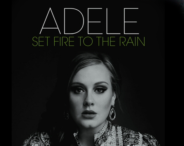 Adele lanza oficialmente 'Set Fire To The Rain' como tercer single