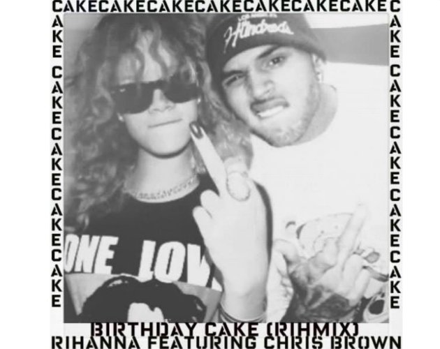 La Portada Oficial De Birthday Cake De Rihanna Y Chris Brown