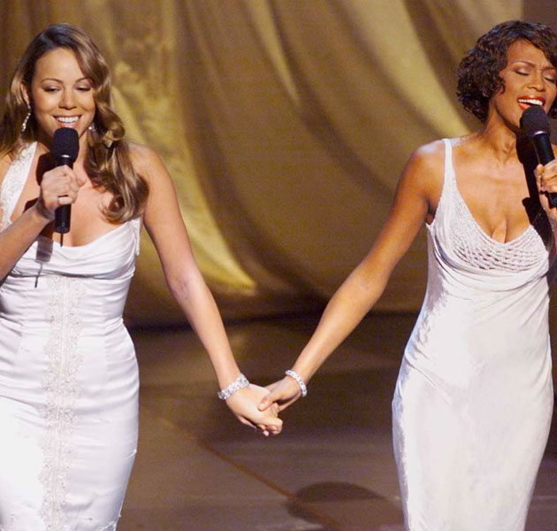 Mariah Carey homenajea a Whitney Houston