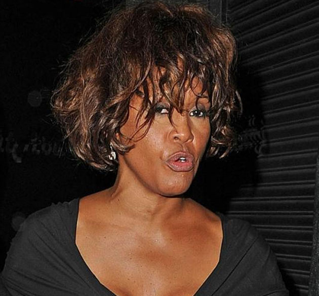 Ultimas fotos de Whitney Houston antes de morir