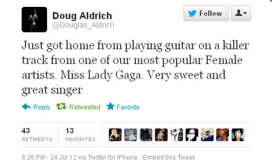 Tweet Doug Gaga