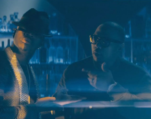 Timbaland y Ne-Yo en Step Up Revolution