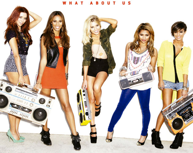 The Saturdays muestran un teaser del vídeo de 'What About Us' en forma de gif
