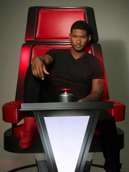 Shakira y Usher en las nuevas fotos oficiales de 'The ... Usher Afro The Voice