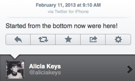 Alicia Keys BlackBerry iPhone