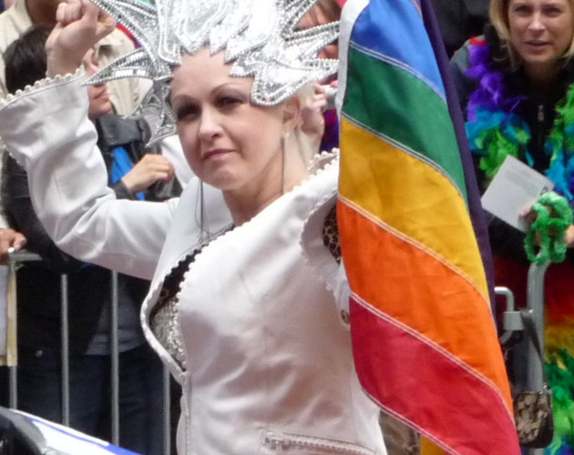 Cyndi lauper también conocida como la christina aguilera de los 80